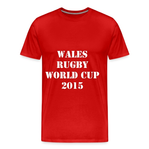 WALES RUGBY WORLD CUP 2015 - XV - T-shirt Premium Homme