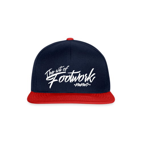 The art of Footwork - Snapback Cap