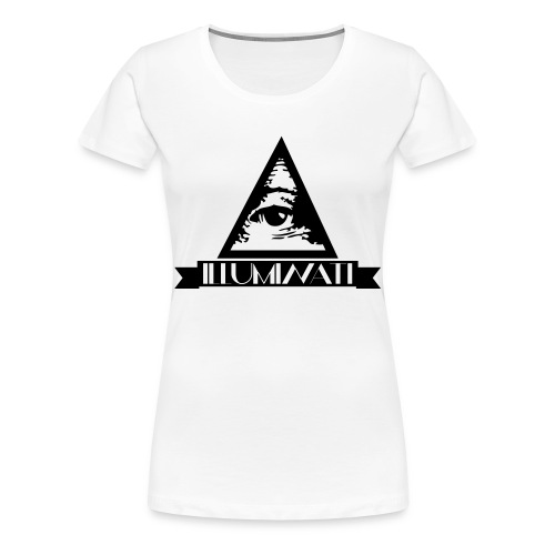 Illuminaten Girlie Premium-Shirt - Frauen Premium T-Shirt