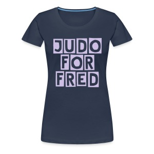 Judo for fred T-skjorte Dame - Premium T-skjorte for kvinner