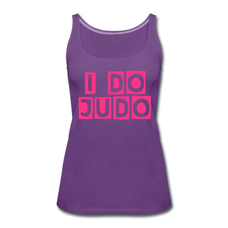 I do Judo Singlet Dame - Premium singlet for kvinner