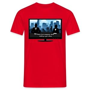 Breking news t-shirt - Weapons - Men's T-Shirt