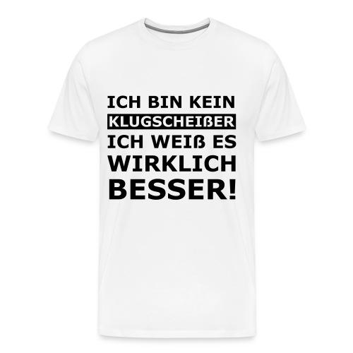 Klugsscheißer - TShirt - Männer Premium T-Shirt