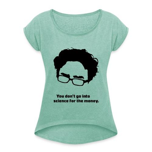 Leonard Frauen T-Shirt - Frauen T-Shirt mit gerollten Ärmeln