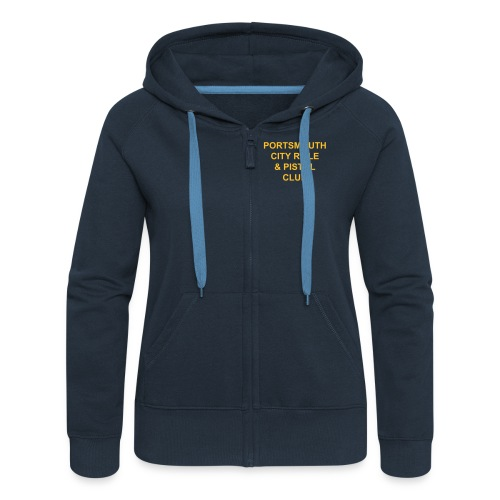 Portsmouth City Track Jacket - Women's Premium Hooded Jacket
