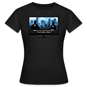Breaking news t-shirt - Electricity - Women's T-Shirt