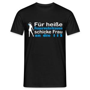 Unisex Shirt heiße Feuerwehrfrauen - Männer T-Shirt