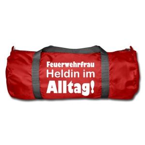 Sporttasche für die Feuerwehrfrau - Sporttasche