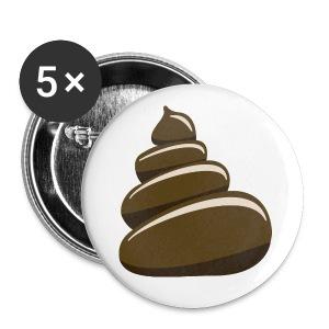 Politiska knappar att spänna på din läderjacka. - Stora knappar 56 mm