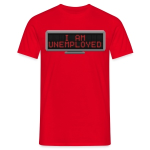 Status t-shirt - Unemployed - Men's T-Shirt