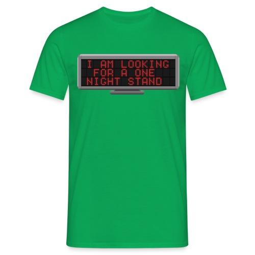 Status t-shirt - Stand - Men's T-Shirt