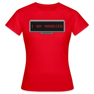 Status t-shirt - Married - Women's T-Shirt