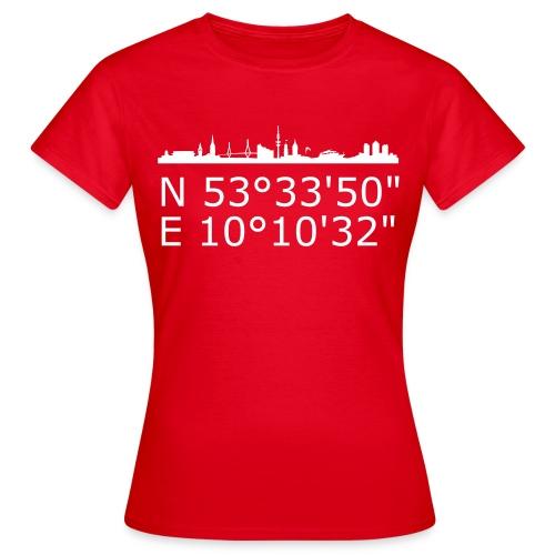 Frauen T-Shirt red - Frauen T-Shirt