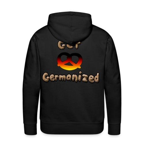 Get Germanized Pretzel Hoodie - Men's Premium Hoodie