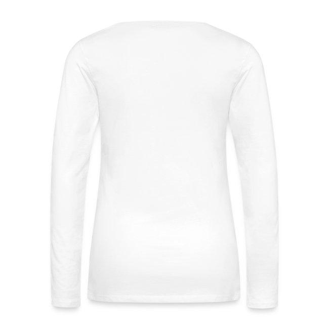 """Veggii"" Premium-Langarmshirt mit Flockdruck (w)"