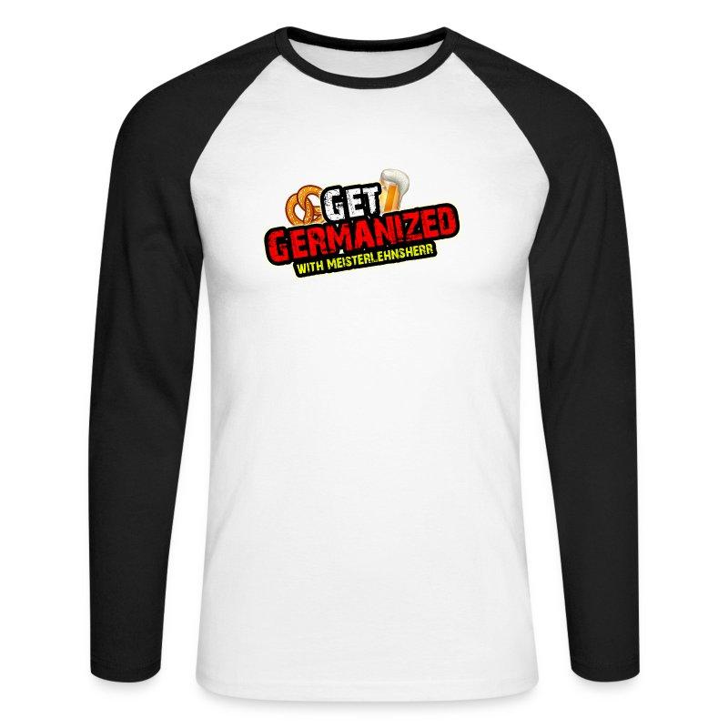 Get Germanized Baseball Longesleeve - Men's Long Sleeve Baseball T-Shirt