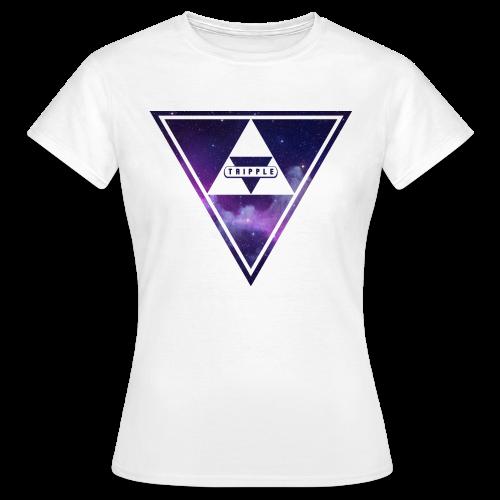 Tripple Galaxy Woman - Vrouwen T-shirt