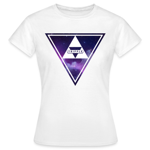 Tripple Galaxy Woman - Vrouwen T-shirt