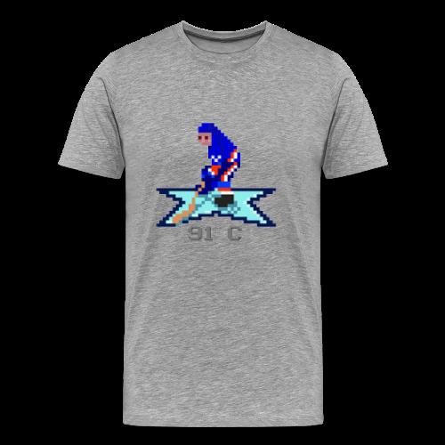 Retro Captain - Premium-T-shirt herr