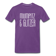 T-Shirts ~ Männer Premium T-Shirt ~ M&G 1Jahr *GlitzerEdition*