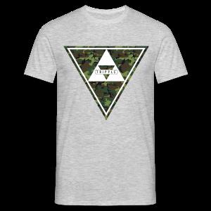 Tripple Camo - Mannen T-shirt