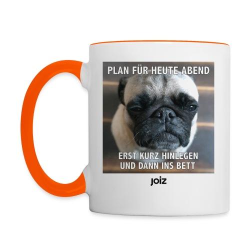 Puhberts Plan - Tasse zweifarbig