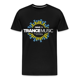 TFB | I rave on trancemusic - Men's Premium T-Shirt
