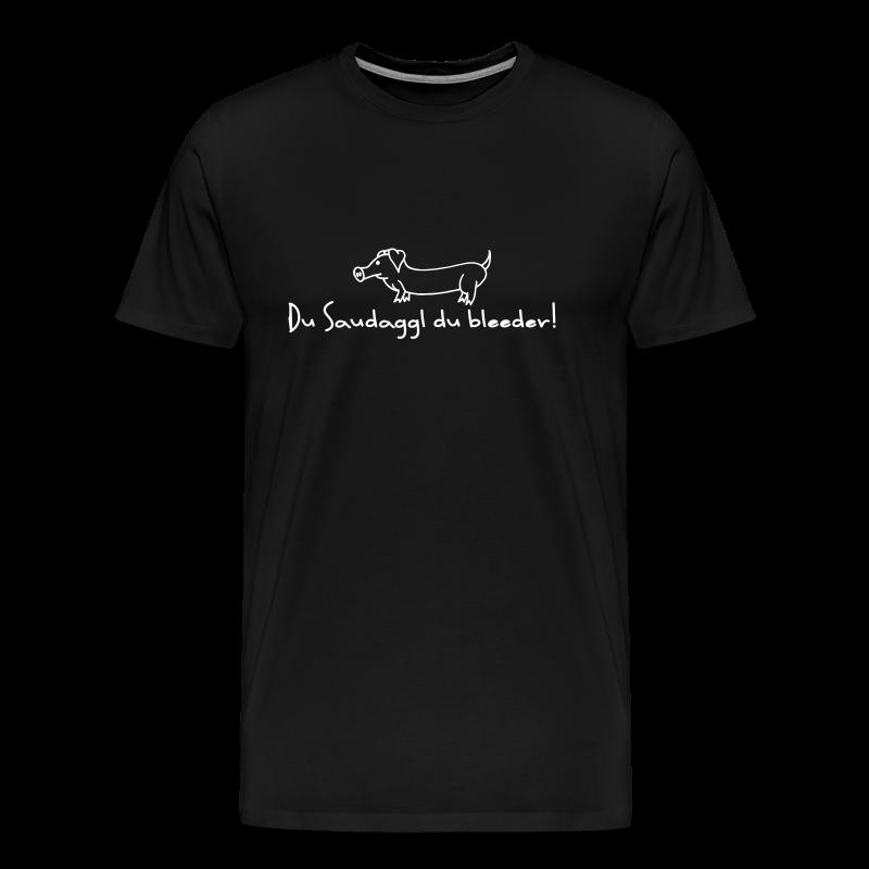 Hohenlohe: Saudaggl - Männer Premium T-Shirt