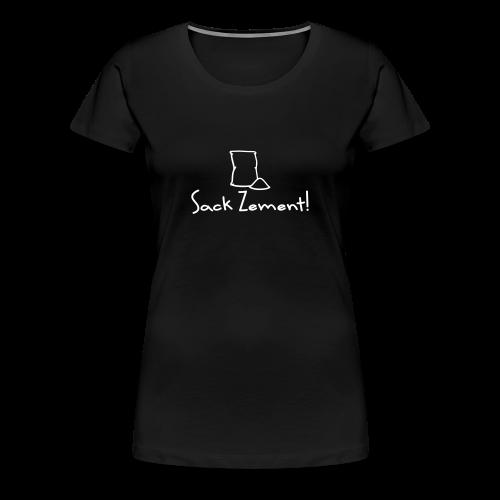 Hohenlohe: Sack Zement - Frauen Premium T-Shirt