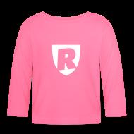Långärmade T-shirts baby ~ Långärmad T-shirt baby ~ 100% RoJ-jävel