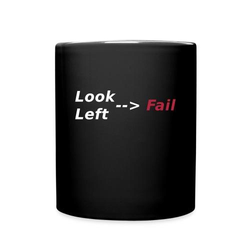 Look left - fail Tassen & Zubehör - Tasse einfarbig