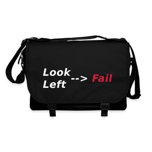 Look left - fail Taschen & Rucksäcke - Umhängetasche