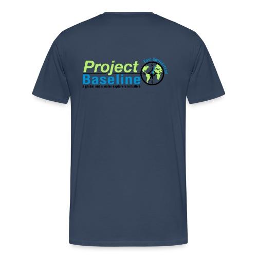 MännerShirt Logo 3farbig - Männer Premium T-Shirt