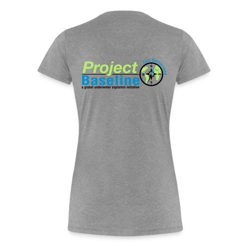 Ladies Shirt Logo 3farbig - Frauen Premium T-Shirt