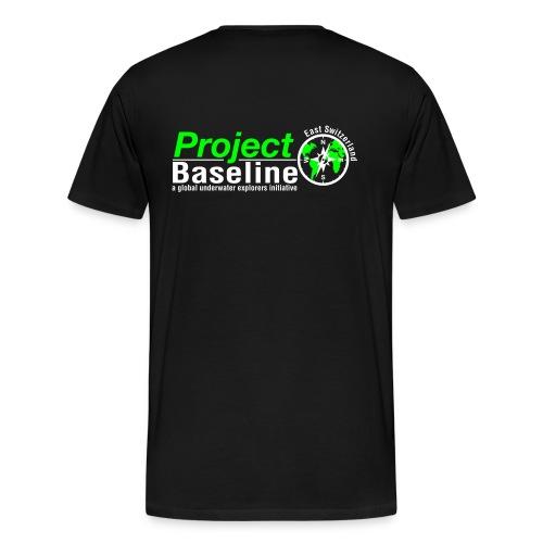 Männershirt Logo 2farbig - Männer Premium T-Shirt