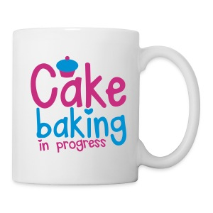 Cake baking in progress mug - Mug
