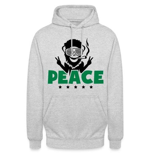 Sweat a capuche Weed Peace - Sweat-shirt à capuche unisexe