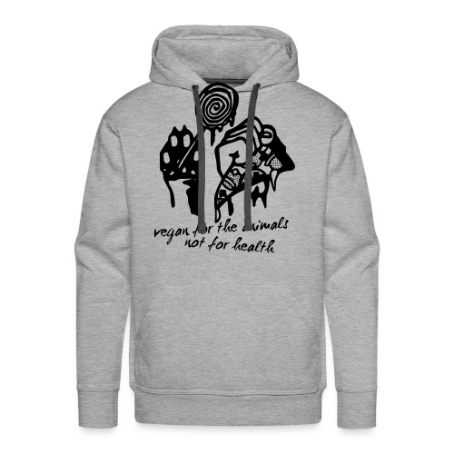 VEGAN FOR THE ANIMALS - Männer Premium Hoodie