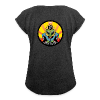 T-shirt with rolled up sleeves - Psyvader by Catana.jp