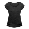 Women's T-Shirt with rolled up sleeves - Psyvader by Catana.jp
