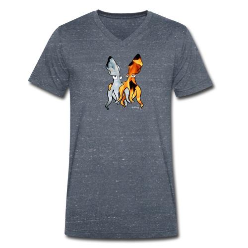 Bio Tshirt Fiou ColV LUI - T-shirt bio col V Stanley & Stella Homme