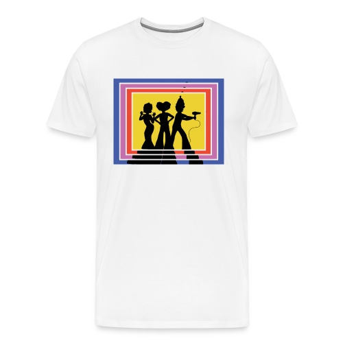 70s Retro Priscilla's Angels  - Men's Premium T-Shirt