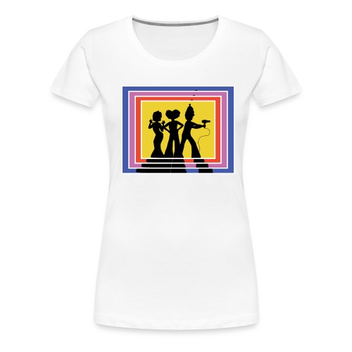 70s Retro Priscilla's Angels  - Women's Premium T-Shirt
