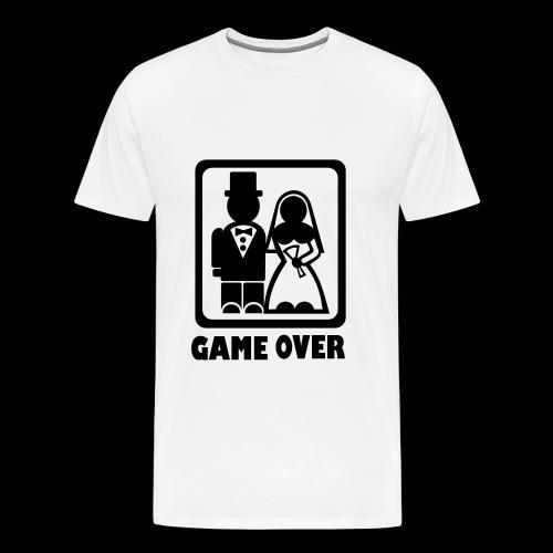 Gamers Wedding T-shirt - Men's Premium T-Shirt