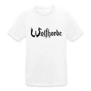 Wolfhorde Sports T-Shirt White - Men's Breathable T-Shirt