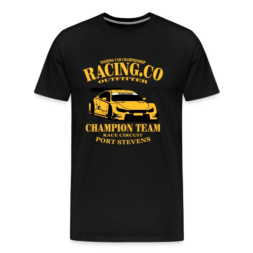 Racing.co - Männer Premium T-Shirt