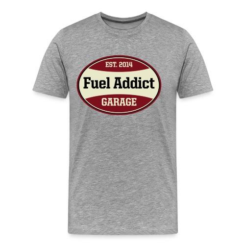 Fuel Addict grau - Männer Premium T-Shirt