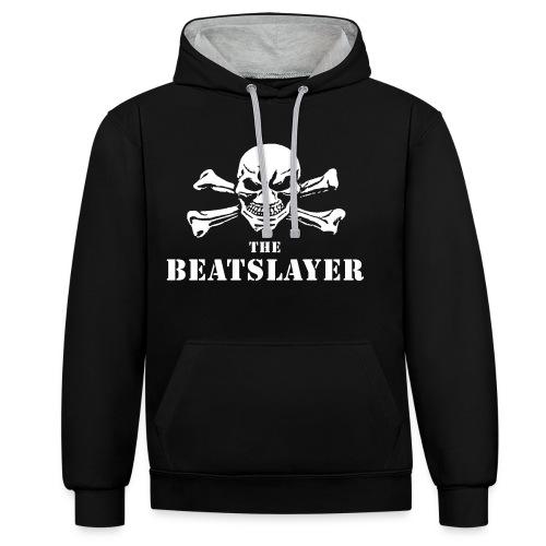 THE BEATSLAYER  - HATERS - HOODY - Contrast hoodie