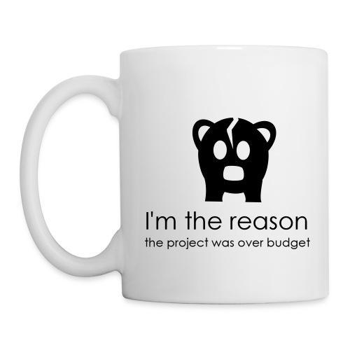 Over budget - Mug