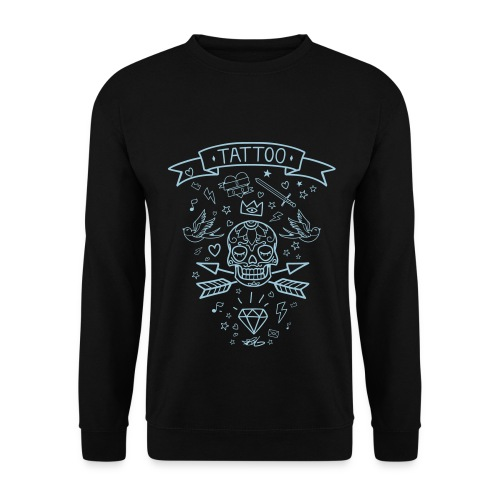 Tattoo Line Winter for Him - Sweat-shirt Homme